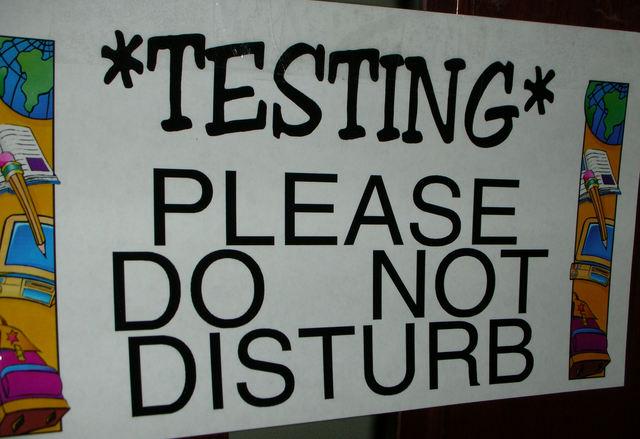 Testing: Please Do Not Disturb